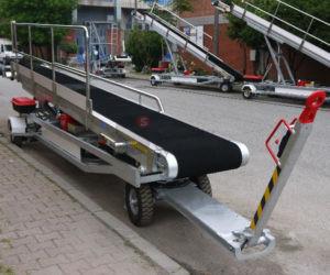 Конвейерный ленточный транспортер КЛП-3,6